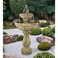 Serena Collections LG2452 Amelia Tuscan Three-Tier Cordless Fountain