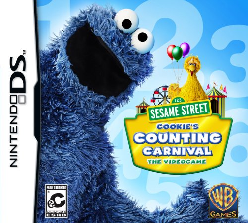 Sesame Street: Cookie's Counting Carnival - Nintendo DS - 1