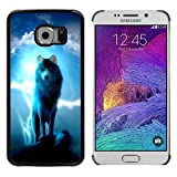 img - for God Garden - FOR Samsung Galaxy S6 EDGE - Wolf Wolves - Case Cover Protection Design Ultra Slim Snap on Hard Plastic book / textbook / text book