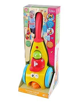 Aspirateur aspiro balles avec sons - jouet à pousser bébé 12 mois+