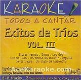 echange, troc Karaoke - Exitos de Trios, Vol. 3