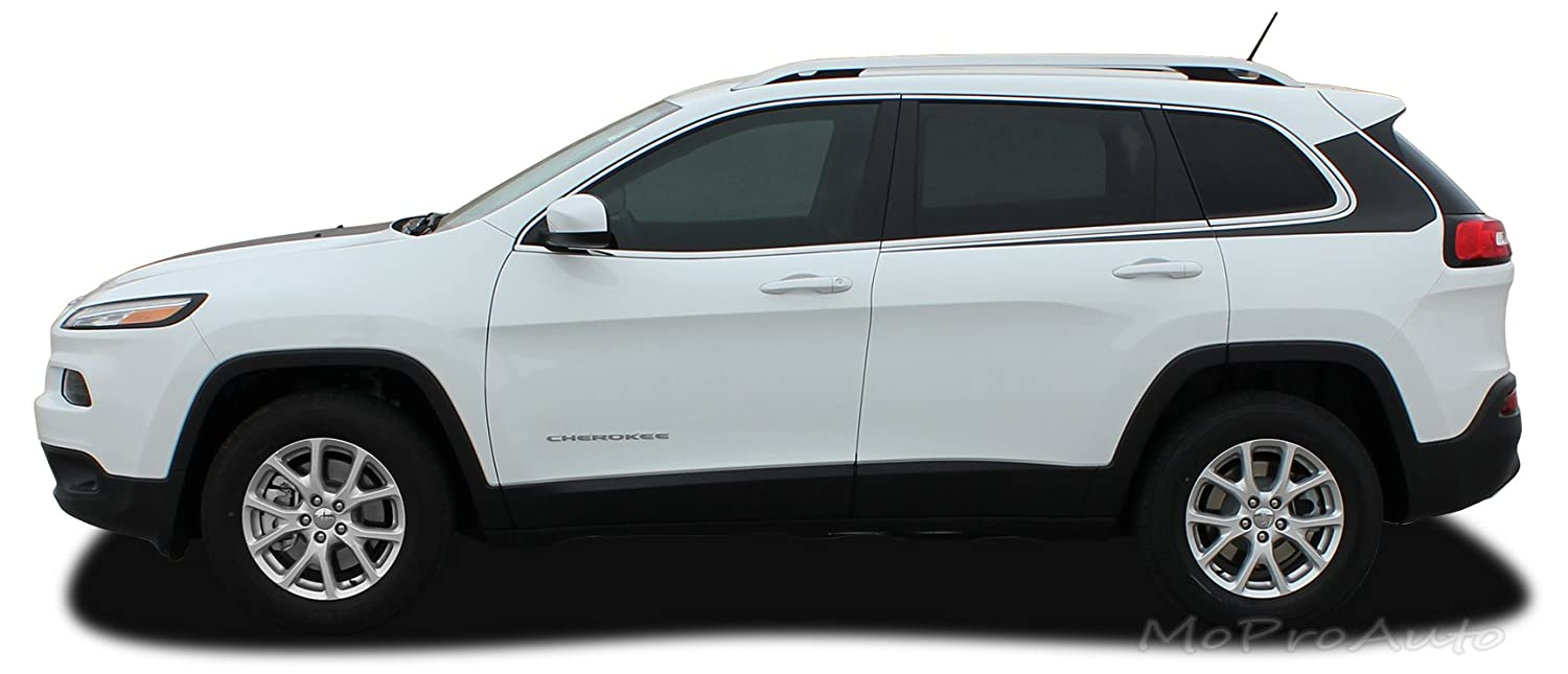 Pinstripe/Decal for Sides of My White Latitude - 2014+ Jeep Cherokee Forums