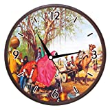 Wall Clocks - Printland Cart Wall Clock
