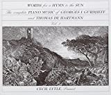 : Words for a Hymn to the Sun: The Complete Piano Music of Georges I. Gurdjieff and Thomas de Hartmann, Volume Three