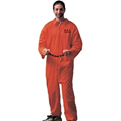 Forum Novelties Mens Adult Jailbird Costume