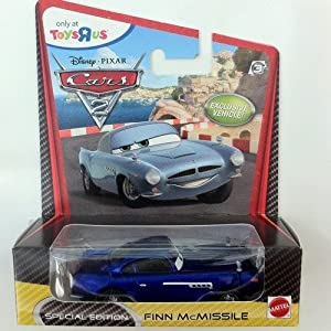 Disney pixar cars 2 special edition finn mcmissile amazon co uk toys
