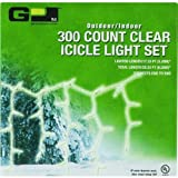 G P Ltd. DBX02-300002 Christmas Icicle Lights, Set of 300