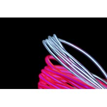 Fortune Products ELFW-5-2PK Electroluminescent Flash Wire, 5mm Diameter x 2 yd Length, Pink