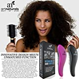Art-Naturals-Detangling-Hair-Brush-Set-Pink-Black-glide-the-Detangler-through-Tangled-hair-Best-Brush-Comb-for-Women-Girls-Men-Boys-Use-in-Wet-and-Dry-Hair-Top-Detangling-Brush