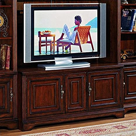 """Hooker Furniture Brookhaven 56"""" TV Console in Cherry"""