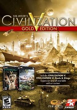 Sid Meier\\\'s Civilization(R) V Gold Edition (日本語版) [オンラインコード] [ダウンロード]