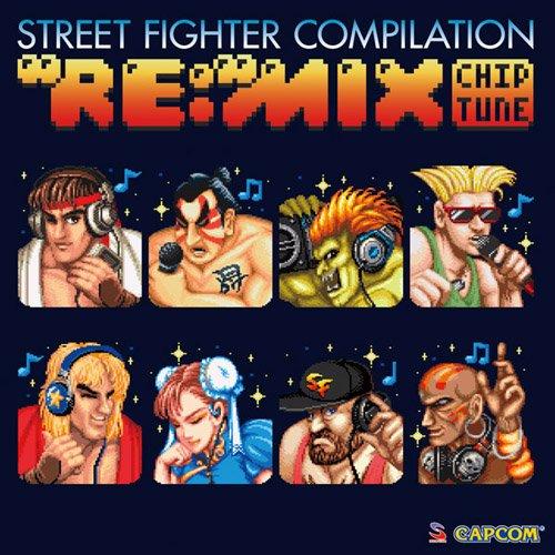 """ストリートファイター コンピレーション """"RE:""""MIX チップチューン"""
