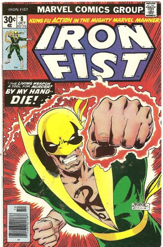 Iron Fist #8 (Like Tigers In The Night!) (Iron Fist Magazine compare prices)