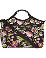 Vera Bradley Carryall Travel Bag (Moon Blooms)