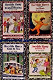 Horrible Harry Goes to the Moon / Horrible Harry and the Kickball Wedding / Horrible Harry in Room 2B / Horrible Harry Goes to Sea - 4 Book Set (Horrible Harry Series) (0142405159) by Suzy Kline