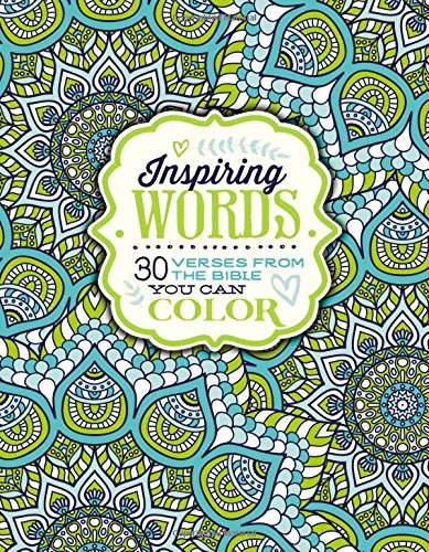 Inspiring Words: 30 Verses from the Bible You Can Color