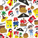 Pirate Foam Stickers (Pack of 120)