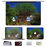 10 PCS Sticker Decal For Apple Macbook Pro/Air 11 13 15 - Landscapes Don Sullivan Tree Of Life In The Kingdom Of Disney