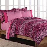 Loft Style Wild One Teen Bedding Comforter Set, Pink, Twin