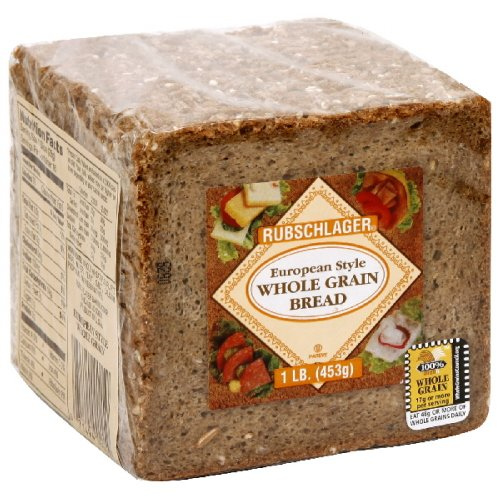Rubschlager Bread, European Whole Grain, 16-Ounce (Pack of 6) (Whole Grain Bread compare prices)