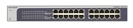 Netgear JGS524E-200EUS Switch Web Managed (Plus) Configurable 24 Ports Gigabit