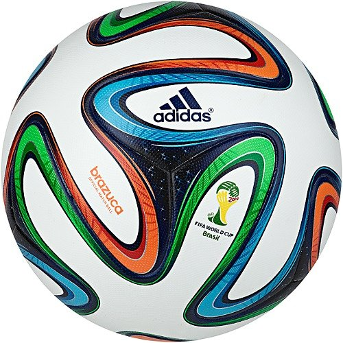 Adidas Brazuca Official Matchball [White/Night Blue] (5)