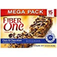 Fiber One Chewy Bars, Oats and Chocolate, 15 - 1.4 Ounce Bars (Pack of 3)