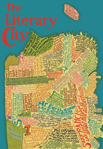 San Francisco Literary Map Wooden Jigsaw Puzzle