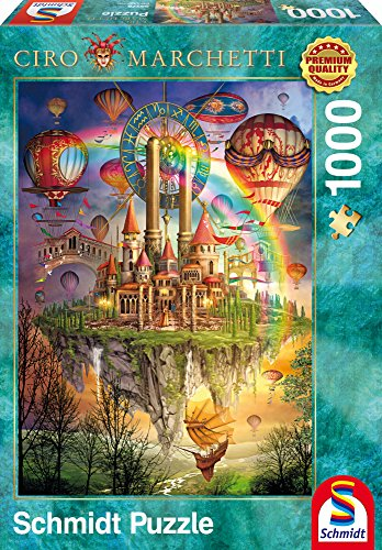 Rainbow Island Schmidt Jigsaw Puzzle 1000 pieces fantasy puzzle 59276