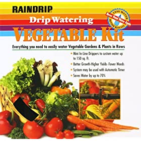 Raindrip R562DT Watering Vegetable Garden Kit