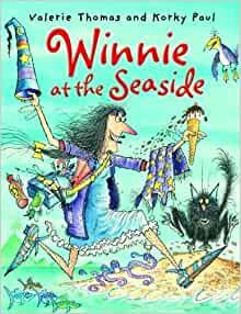 Winnie at the Seaside (Winnie the Witch) by Thomas, Valerie Reissue