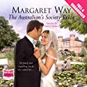 The Australian's Society Bride Audiobook by Margaret Way Narrated by Federay Holmes