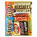 Chocolate Bar & M&M Variety Pack (12 Bars)