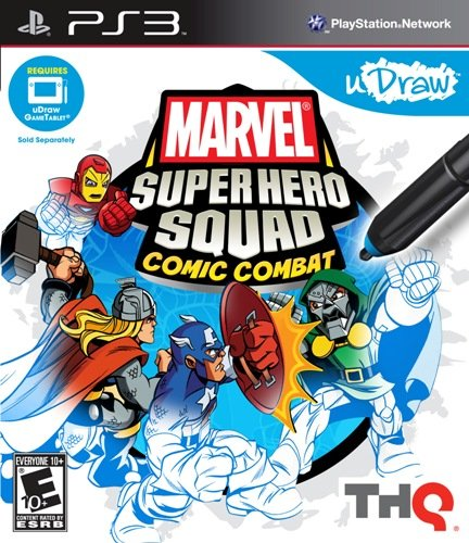 Marvel Super Hero Squad: Comic Combat - Playstation 3 - 1