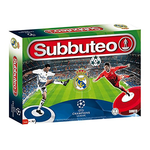 Real Madrid - Juego subbuteo UEFA Champions League (Eleven Force 81519)