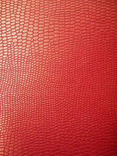 Dragon Scale Paper- Chinese Red 21.5x31 Inch Sheet