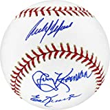 Ed Kranepool, Jerry Koosman, Carlos Delgado, and Willie Randolph Signed MLB Baseball