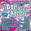 Party Tyme Karaoke - Super Hits 28 [16-song CD+G]
