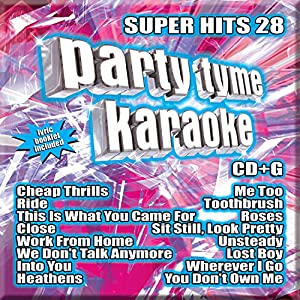 Party Tyme Karaoke - Super Hits 28 [16-song CD+G]