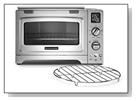 Delicieux KitchenAid KCO275SS Convection 1800 Watt Digital Countertop Oven Review