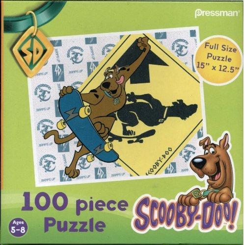 Scooby-Doo! 100 Piece Puzzle - Scooby Skateboarding