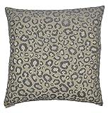 Van Ness Studio Sarafina Decorative Throw Pillow, Silver