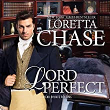Lord Perfect: Carsington Family Series (       UNABRIDGED) by Loretta Chase Narrated by Kate Reading