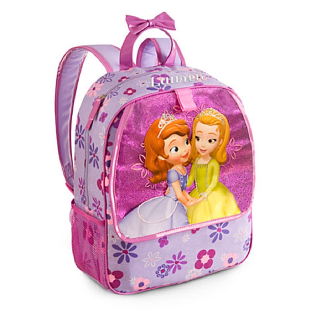 Disney Sofia the First and Amber Backpack