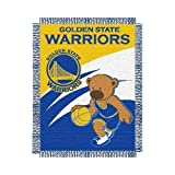 "Golden State Warriors NBA Triple Woven Jacquard Throw (Baby Series) (36X46"")"" at Amazon.com"