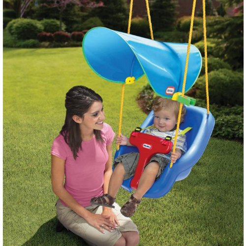 Swing seat set outdoor playground infant toddler safe for Baby garden swing amazon