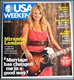 USA Weekend (June 1-3, 2012 - Miranda Lambert Cover)