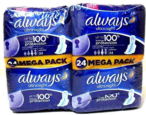 always-ultra-night-sanitary-towels-with-wings-up-to-100-leakage-protection-24-x-2-packs-48-pads