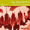 Chroniques martiennes Audiobook by Ray Bradbury Narrated by Hugo Becker