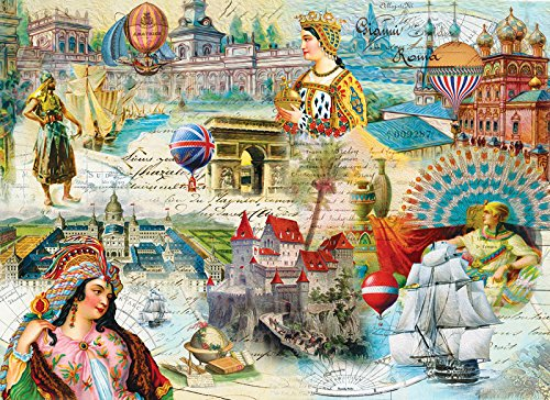 Majestic Kingdoms - 500 Piece Jigsaw Puzzle By Sunsout Inc.